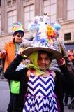 Παρέλαση της Νέας Υόρκης Πάσχα και φεστιβάλ 2015 καπό Πάσχας Στοκ εικόνα με δικαίωμα ελεύθερης χρήσης