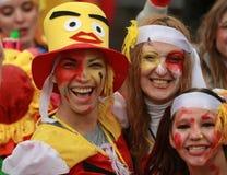 Παρέλαση της Ξάνθης καρναβάλι Στοκ φωτογραφία με δικαίωμα ελεύθερης χρήσης