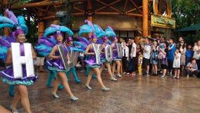 Παρέλαση της Σιγκαπούρης Hollywood UNIVERSAL STUDIO Στοκ εικόνα με δικαίωμα ελεύθερης χρήσης