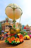 Παρέλαση της Disney με το κουδούνι γανωτών Στοκ φωτογραφία με δικαίωμα ελεύθερης χρήσης