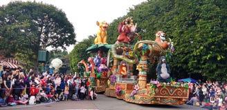 Παρέλαση της Disney Στοκ φωτογραφία με δικαίωμα ελεύθερης χρήσης