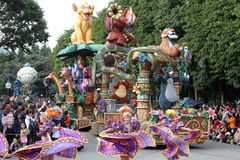 Παρέλαση της Disney Στοκ εικόνες με δικαίωμα ελεύθερης χρήσης