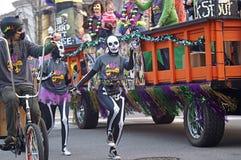 Παρέλαση της Mardi Gras Στοκ Φωτογραφίες
