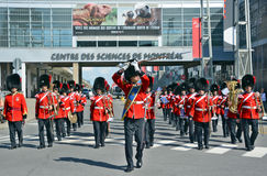 Παρέλαση του στρατιώτη του βασιλικού 22$ου συντάγματος Στοκ Εικόνα