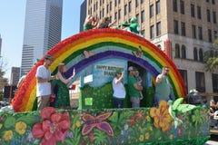 Παρέλαση του Χιούστον ST Πάτρικ Στοκ φωτογραφία με δικαίωμα ελεύθερης χρήσης
