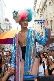 Παρέλαση υπερηφάνειας της Ιστανμπούλ LGBT Στοκ Εικόνα