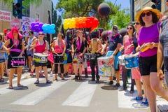 Παρέλαση 2016 υπερηφάνειας της Χάιφα στοκ εικόνες με δικαίωμα ελεύθερης χρήσης