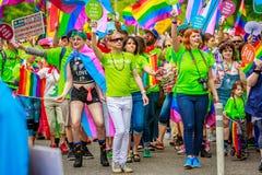 Παρέλαση 2017 υπερηφάνειας του Πόρτλαντ στοκ εικόνα με δικαίωμα ελεύθερης χρήσης
