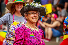 Παρέλαση 2017 υπερηφάνειας του Πόρτλαντ Στοκ Φωτογραφίες