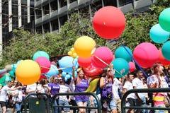 Παρέλαση υπερηφάνειας στοκ φωτογραφία
