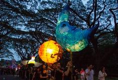 Παρέλαση φαναριών Στοκ Φωτογραφίες