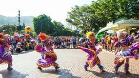Παρέλαση Χονγκ Κονγκ Disneyland Στοκ φωτογραφία με δικαίωμα ελεύθερης χρήσης