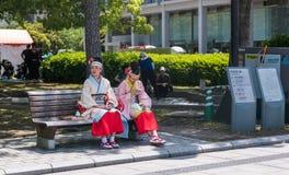 Παρέλαση χορού Yosakoi Kinsai Στοκ εικόνα με δικαίωμα ελεύθερης χρήσης