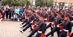 Παρέλαση Arequipa πορείας της Κυριακής Στοκ φωτογραφία με δικαίωμα ελεύθερης χρήσης