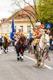Παρέλαση Brasovului Junii, Brasov Στοκ Εικόνες
