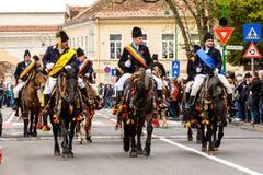 Παρέλαση Brasovului Junii, Brasov Στοκ Φωτογραφίες