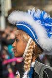 Παρέλαση-Fasching-γερμανική καρναβάλι-Νυρεμβέργη Στοκ Εικόνες