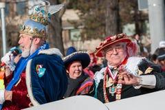 Παρέλαση-Fasching-γερμανική καρναβάλι-Νυρεμβέργη Στοκ φωτογραφίες με δικαίωμα ελεύθερης χρήσης