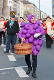 Παρέλαση-Fasching-γερμανική καρναβάλι-Νυρεμβέργη Στοκ φωτογραφία με δικαίωμα ελεύθερης χρήσης