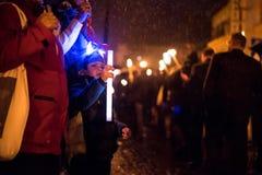 Παρέλαση Salamander Στοκ Φωτογραφία