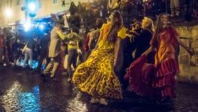 Παρέλαση Salamander Στοκ εικόνες με δικαίωμα ελεύθερης χρήσης