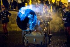 Παρέλαση Salamander Στοκ Εικόνα