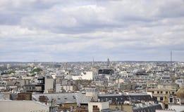 Παρίσι, άποψη άνωθεν στοκ φωτογραφίες με δικαίωμα ελεύθερης χρήσης
