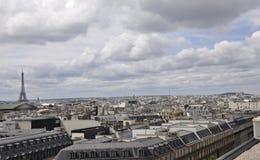 Παρίσι, άποψη άνωθεν στοκ φωτογραφία με δικαίωμα ελεύθερης χρήσης