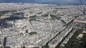 Παρίσι από τον πύργο του Άιφελ Στοκ Φωτογραφίες
