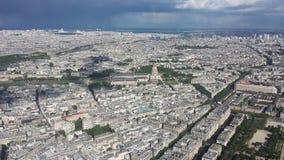 Παρίσι από τον πύργο του Άιφελ Στοκ Φωτογραφία