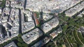 Παρίσι από τον πύργο του Άιφελ Στοκ εικόνες με δικαίωμα ελεύθερης χρήσης
