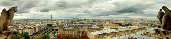 Παρίσι από Notredame Στοκ Φωτογραφίες
