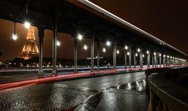 Παρίσι από Pont de Bir-Hakeim Στοκ φωτογραφίες με δικαίωμα ελεύθερης χρήσης