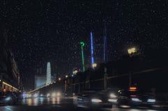 Παρίσι αστέρια christmas city fairy latvia night provincial shortly similar tale to στοκ εικόνες με δικαίωμα ελεύθερης χρήσης