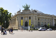 Παρίσι, Αύγουστος 20.2013-μεγάλο Palais des Beaux Arts στο Παρίσι Στοκ Εικόνες