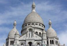 Παρίσι Βασιλική Sacre Coeur σε Montmartre Λεπτομέρειες λήξης Στοκ εικόνες με δικαίωμα ελεύθερης χρήσης