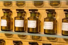 Παρίσι, Γαλλία, στις 27 Μαρτίου 2017: Άρωμα παρουσιάσεων αιθουσών του μουσείου Fragonard Στοκ Εικόνες