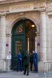 Παρίσι, Γαλλία, στις 27 Μαρτίου 2017: Το πανεπιστήμιο του Παρισιού, πανεπιστημιακό, διάσημο πανεπιστήμιο Sorbonne στο Παρίσι, που Στοκ Φωτογραφίες