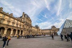 Παρίσι, Γαλλία - το Νοέμβριο του 2017 2007 france june louvre museum paris Διάσημο ιστορικό ορόσημο τέχνης στην Ευρώπη Ρομαντικός στοκ εικόνα