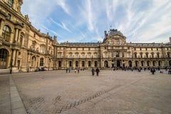 Παρίσι, Γαλλία - το Νοέμβριο του 2017 2007 france june louvre museum paris Διάσημο ιστορικό ορόσημο τέχνης στην Ευρώπη Ρομαντικός στοκ φωτογραφίες με δικαίωμα ελεύθερης χρήσης