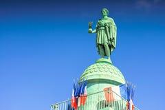 Παρίσι, Γαλλία - 2 Μαΐου 2017: Στήλη Vendome με το άγαλμα Napol Στοκ εικόνες με δικαίωμα ελεύθερης χρήσης