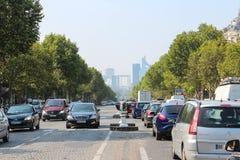 Παρίσι, Γαλλία - 4 Σεπτεμβρίου 2012: Οι κεντρικές οδοί του Παρισιού Στοκ Εικόνες