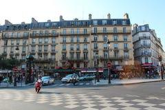 Παρίσι, Γαλλία - 4 Σεπτεμβρίου 2012: Οι κεντρικές οδοί του Παρισιού Στοκ φωτογραφία με δικαίωμα ελεύθερης χρήσης