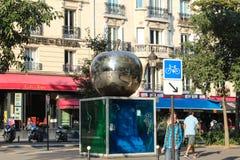 Παρίσι, Γαλλία - 4 Σεπτεμβρίου 2012: Οι κεντρικές οδοί του Παρισιού Στοκ Φωτογραφία