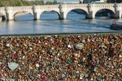 Παρίσι, Γαλλία - Pont des Arts Στοκ φωτογραφία με δικαίωμα ελεύθερης χρήσης