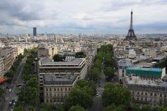 Παρίσι - γκρίζο αυξήθηκε της Ευρώπης Στοκ Φωτογραφίες