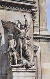 Παρίσι, γλυπτό του Saint-Michel πηγών στοκ εικόνες με δικαίωμα ελεύθερης χρήσης