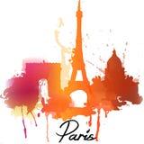 Παρίσι επίσης corel σύρετε το διάνυσμα απεικόνισης Στοκ εικόνες με δικαίωμα ελεύθερης χρήσης