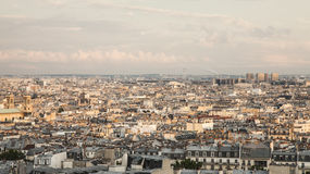 Παρίσι - η πανοραμική άποψη Στοκ φωτογραφία με δικαίωμα ελεύθερης χρήσης