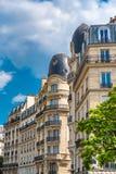 Παρίσι, θέση de Λα έθνος στοκ εικόνα